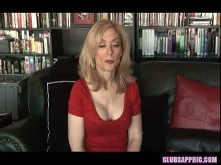 Nina hartley un sinn sage sasniegt viņu goals un celebrate ar a maz sekss