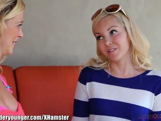 Lesbianolderyounger aaliyah pažinčių eating milf iš