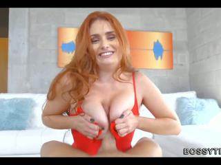 Redhead with Glorious Tits, Free Big N...