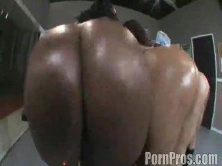 Booty Ebony Female Sucking Banana Inside Point Of View Style