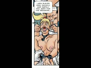 Blondynka oszukane w bdsm seks komik