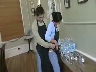Dishwasher Wants The Waitress