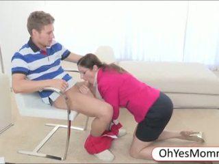 Hot Mom Shares Boyfriend With Teen Girl