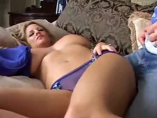 Sleeping Big Breasted MILF