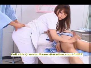 Akiho yoshizawa 從 idol69 調皮 亞洲人 護士 likes 到 辦 口交