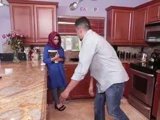 גדול פטמות נוער ada gets filled עם זרע
