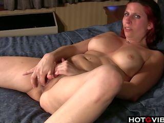 redheads, fingering, masturbation