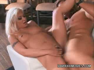 Blondie Wife Rides shaft