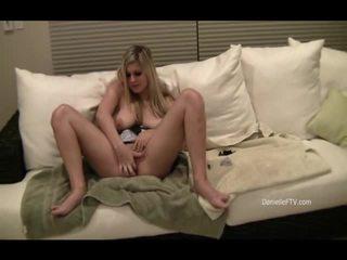 Danielle Inserts Beads Inside Her Slit