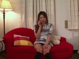 Japanese Babe Uses Her Fingers and a Toy to Cum: HD Porn df