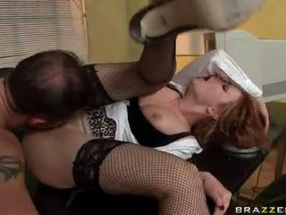 Tarra White Getting Shagged In Her Office By A Hunk Guy