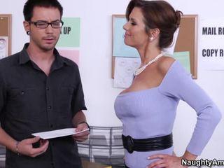性交性爱, 他妈的丰满的荡妇, 办公室做爱
