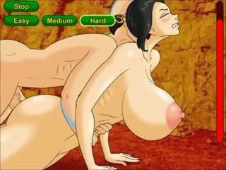 Avatar dominates ঐ প্রিন্সেস সঙ্গে বিশাল boobies
