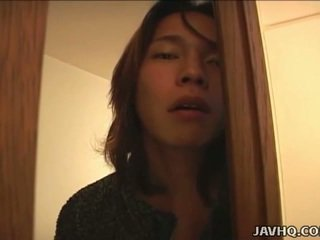 Japoneze adoleshent gets e pisët në the bath uncensored