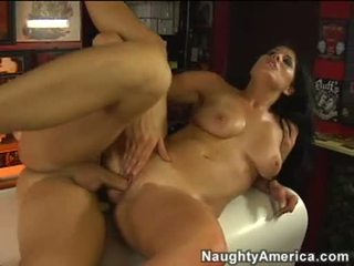 Hawt khiêu dâm bé erin marxxx aawaiting một load của cum blasting.