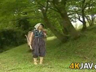 วินเทจ ญี่ปุ่น ร่วมเพศ outdoors