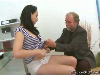 Trio seks met leraar