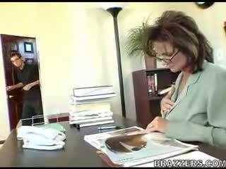 Boss teasing employe !