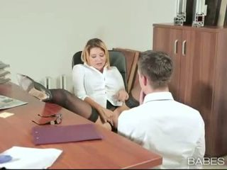 Kantor babe anna polina banged nyata baik
