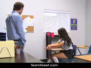 InnocentHigh Tall schoolgirl teen Scar...