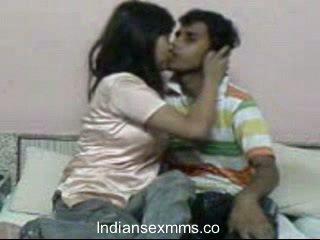 Indisk lovers hårdporr kön scandal i studentrummet rum leaked