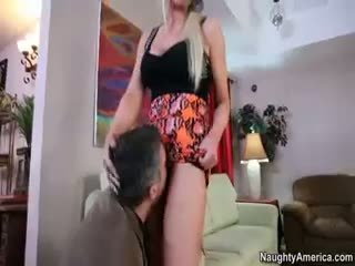 blowjob, blond