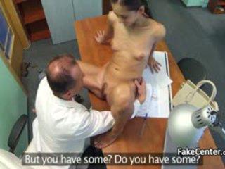 Slim Babe Fucked Doctor In Hospital