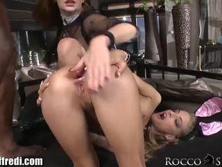Cayenne loves rocco door rocco siffredi