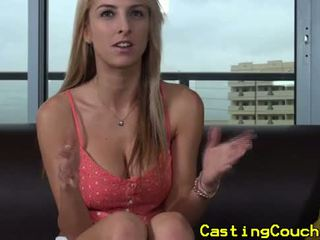 Casting couch x blonde fucked doggystyle