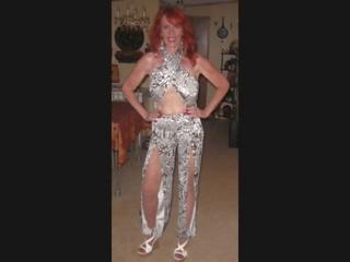 Debbie 脏 妓女 为 bbc, 自由 大 公鸡 色情 36