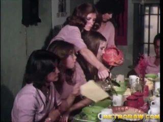 retro, lesbiana, vintage porn