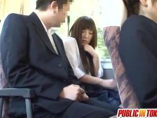 japanilainen, public sex, reverse cowgirl