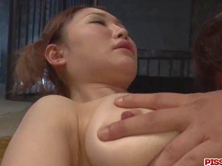 Airi Mizusawa deals several men in hot Asian group sex