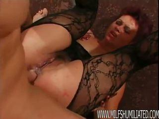 MILF Hardcore anal sex
