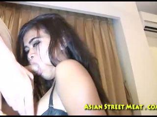 brunette, young, asshole