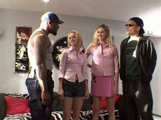 orgy (group), anal, interracial