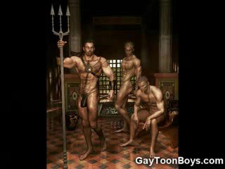 Berotot gay boys 3d fantasy!