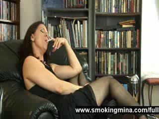 Punčochy manželka je kouření