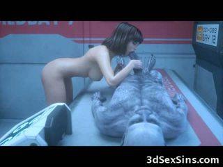 该 3d 僵尸 sexperiment!