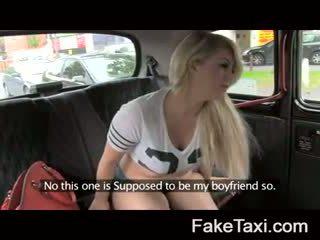 Fake taxi kamera njerëz having drx om fake taxi