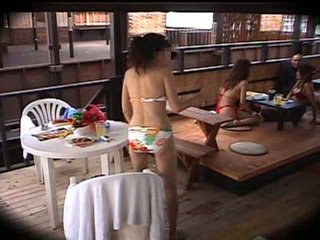 japansk, massage, klubb