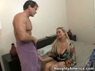 reit, große titten, brüste
