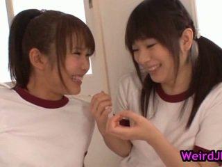 Smut harune maeda en megumi shono