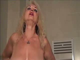 Granny Strips and Masturbates, Free Masturbates Porn Video