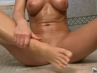 babe, solo, foot fetish