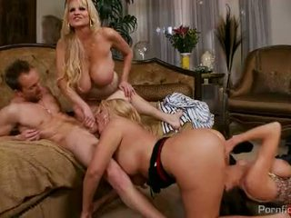 Karen Fisher, Veronica Avluv and Kelly Madison