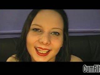 brunette, big boobs, masturbation