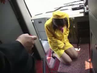 Japoneze adoleshent autobuz linjë porno video