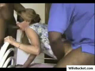 Sexy mature amateur wife interracial cuckold love