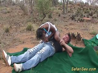 Afrikansk safari groupsex fan orgia